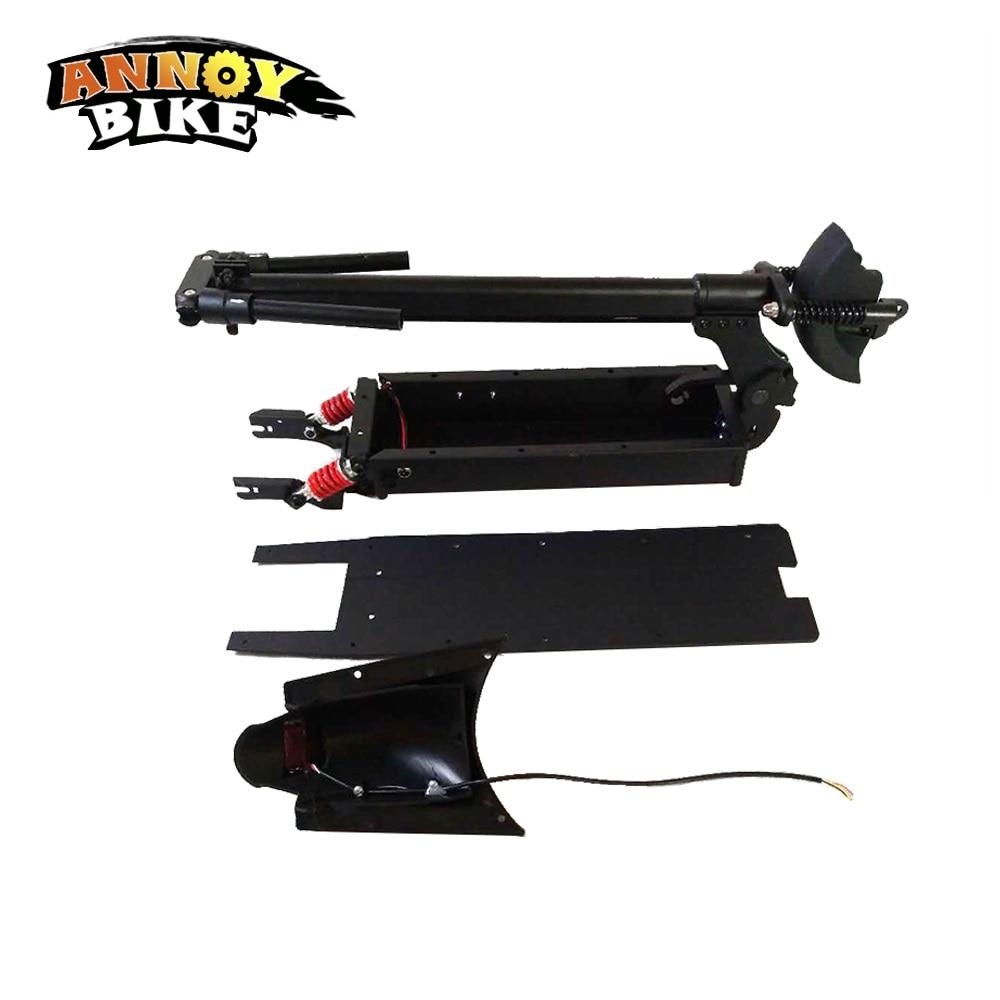ANNOYBIKE-Kit de amortiguadores dobles para bicicleta eléctrica, accesorios para monopatín, de 8...
