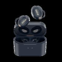 Гибридные шумоподавляющие наушники QCY HT01 с активным шумоподавлением, беспроводные наушники с зарядкой, Bluetooth 5,0, TWS гарнитура с переключател...