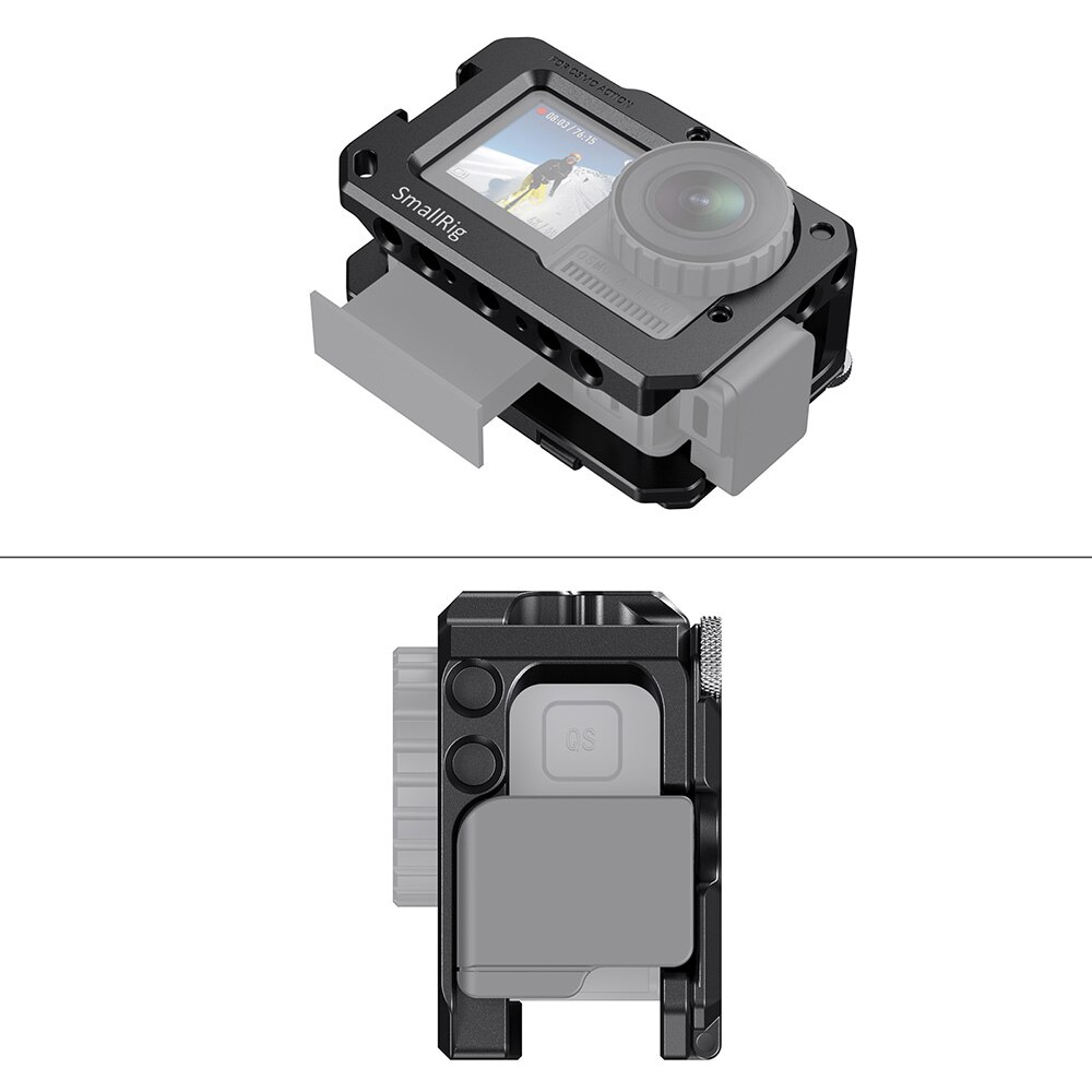 SmallRig OSMO Vlogging Video Cage for DJI Osmo Action (Compatible with Microphone Adapter) CVD2475 enlarge