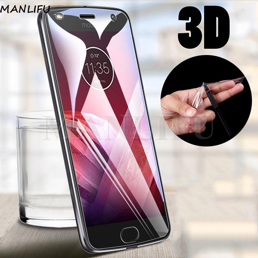Película 3D de silicona suave de TPU hidrogel para Motorola Moto G8 G7 G6 E6 Plus Protector de pantalla para Moto One Vision Z2 Z3 Play