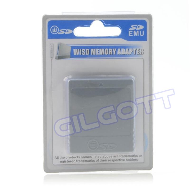 Adaptador de lector de tarjetas de memoria SD para Nintendo Wii, GC,...