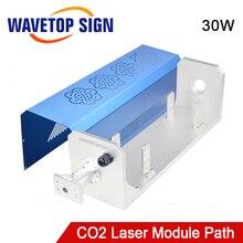 Módulo láser WaveTopSign CO2, piezas de maquinaria de ruta Synrad Vi30 30W, camino láser