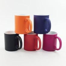 DIY Foto Becher Heißer Wasser Farbe Ändern Keramik tasse Außerhalb DIY foto Keramik becher anpassen bild geschenk