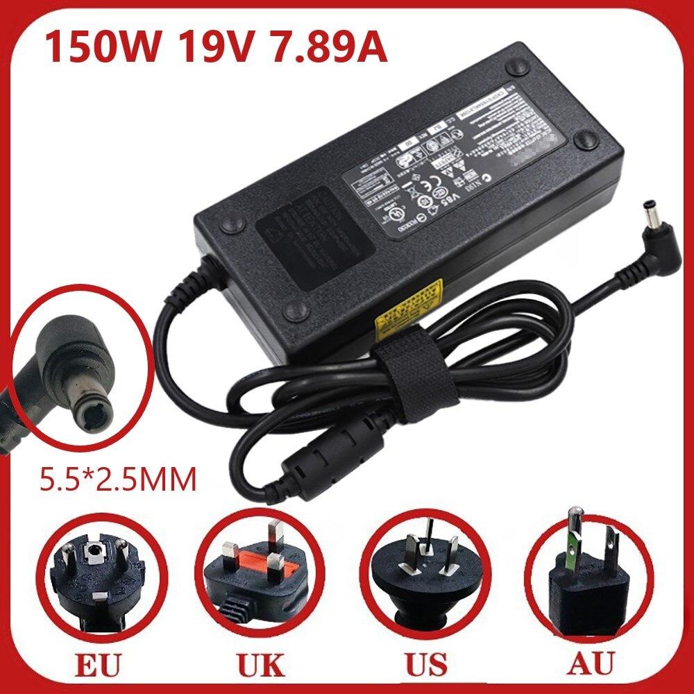 حقيقية A15-150P1A 19V 7.89A 150W محول شاحن ل P950HP NP8953 NB50TK1 W650KK1 P651RA A150A010L A150A006L A150A015L