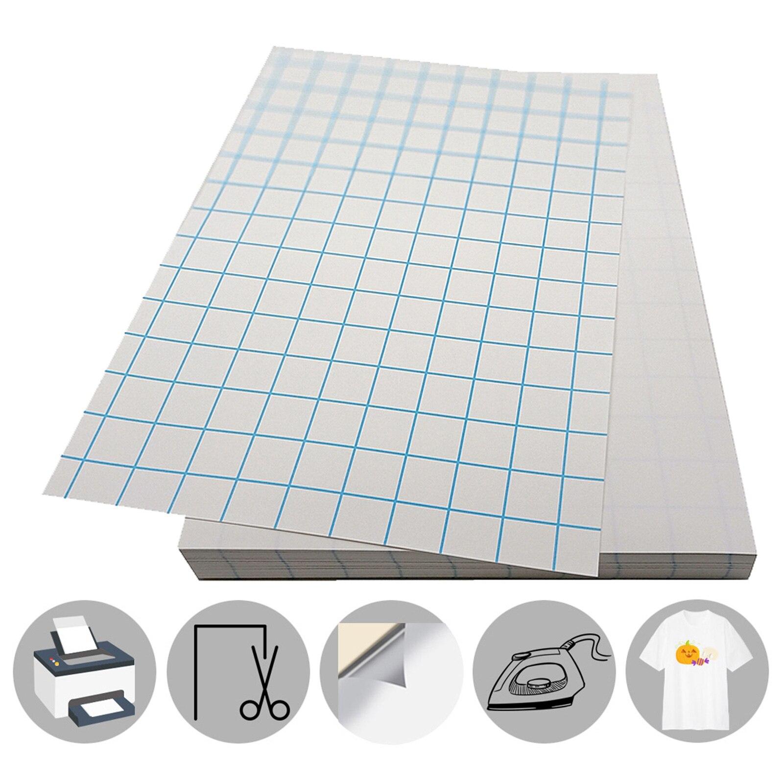 Термобумага для печати на футболках A4, термобумага для печати на темной светильник Лой одежде, водонепроницаемая печать