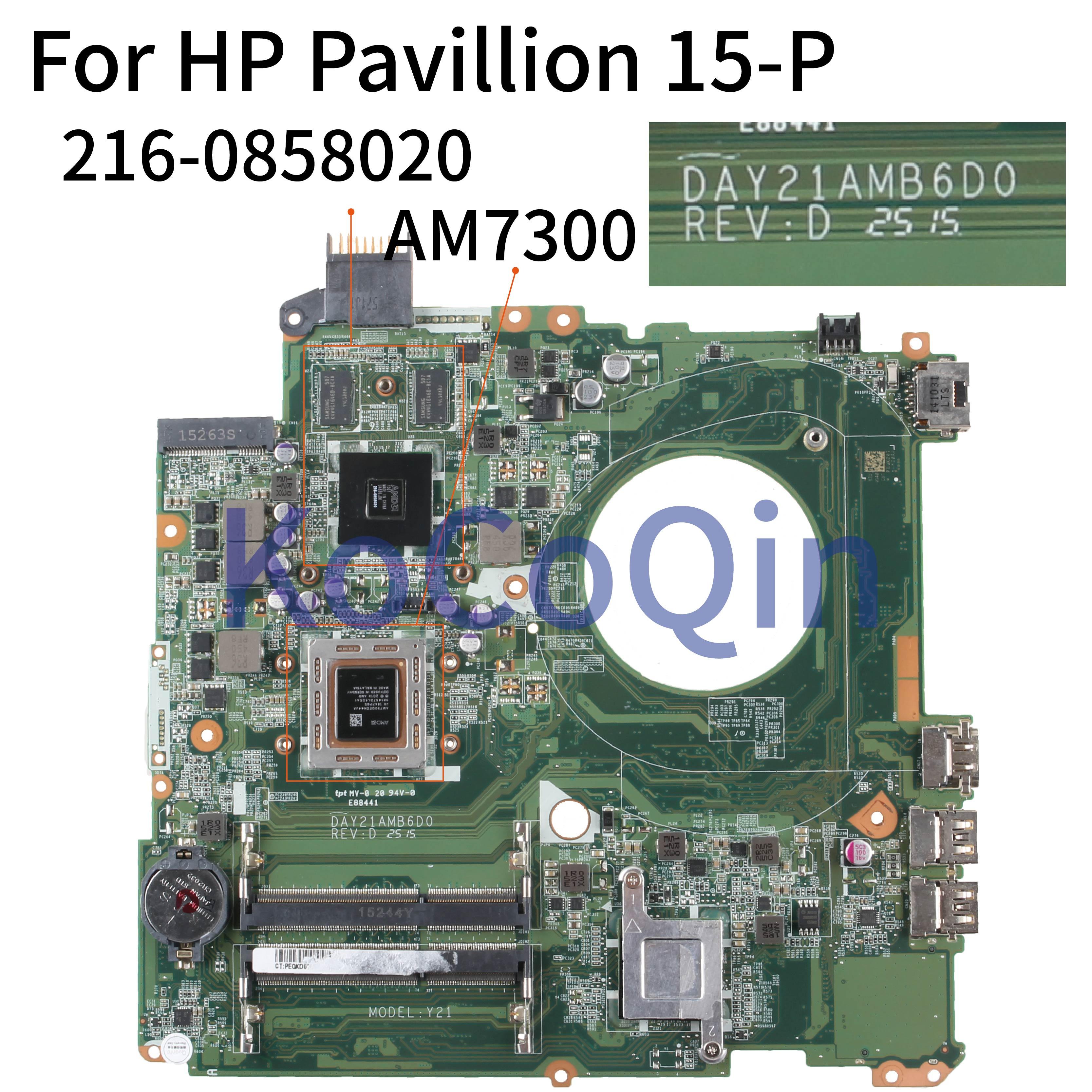 KoCoQin محمول لوحة رئيسية لأجهزة HP بافيليون 15-P 15