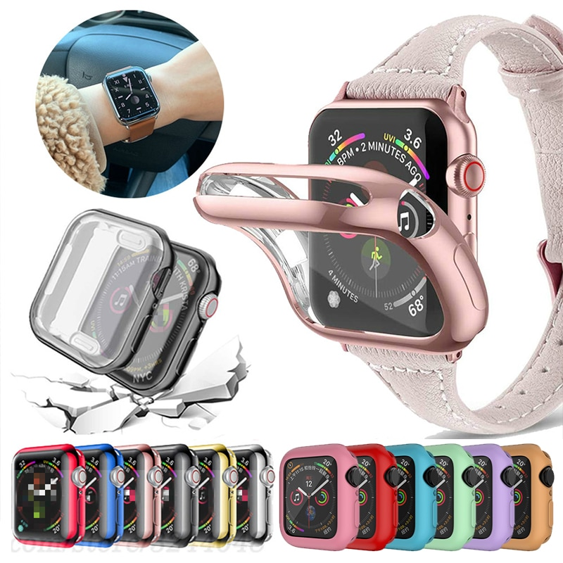 Funda para reloj Apple Watch Series 6 Se, funda protectora delgada de...
