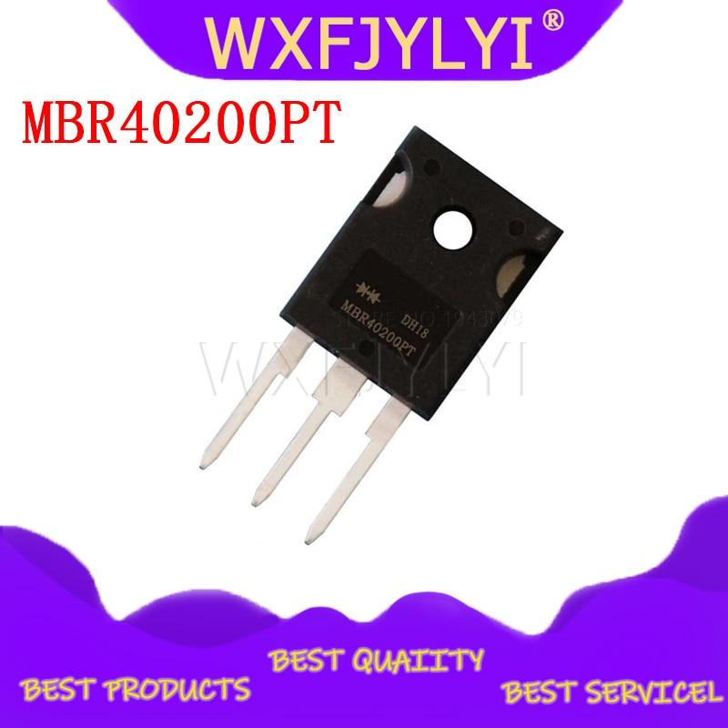 5 piezas MBR40200PT MBR40200 diodo Schottky nuevo original