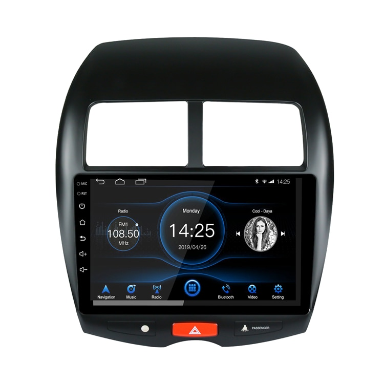 Android 10.1 Car Radio Stereo 10 inch Capacitive Touch Screen  Video Player GPS Navigation System For Mitsubishi ASX 13-19