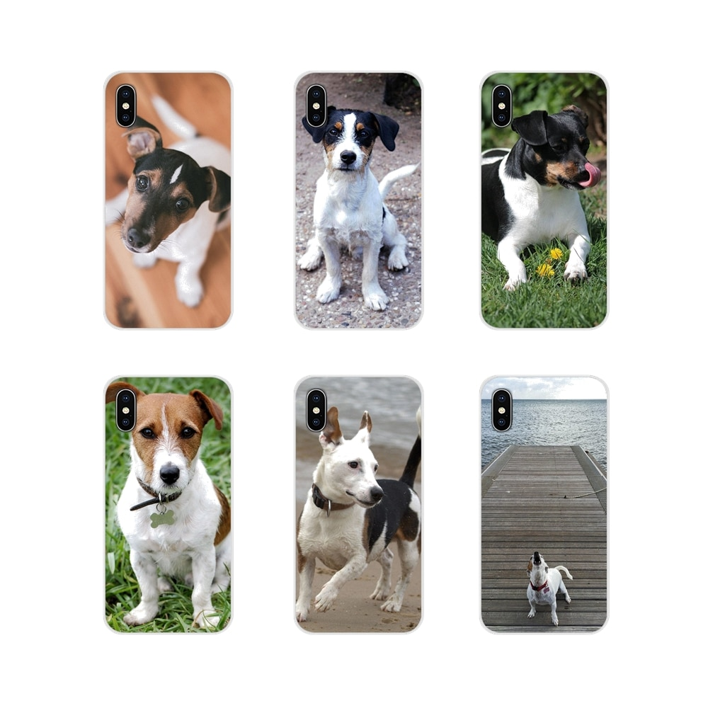 Para Samsung Galaxy A3 A5 A7 A9 A8 Star A6 Plus 2018 2015 2016 2017 accesorios para perros Jack Russell