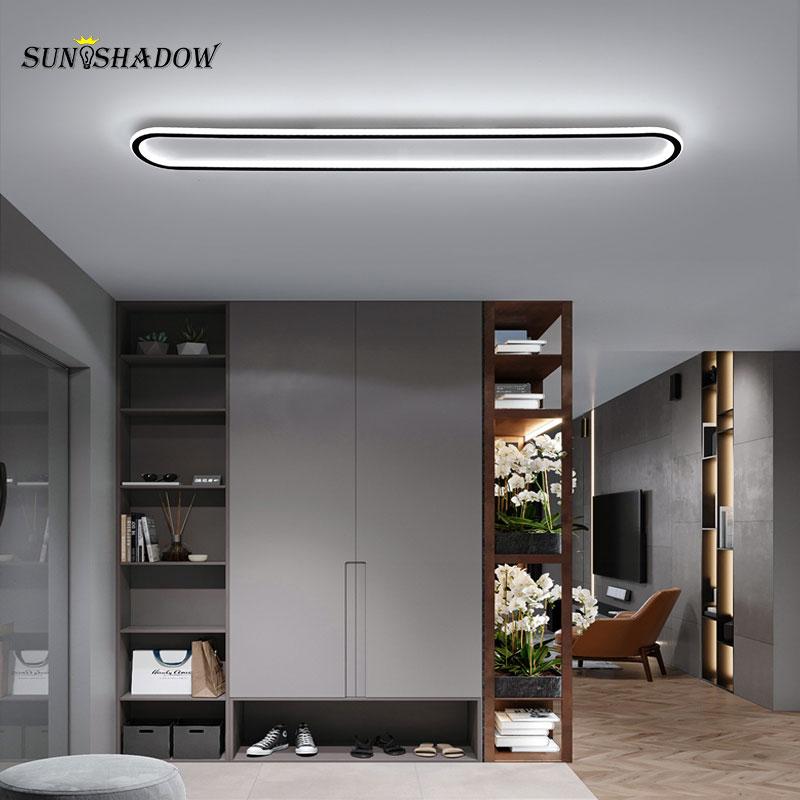 الحديثة LED ضوء السقف 120 سنتيمتر 100 سنتيمتر كبيرة السقف مصباح لغرفة المعيشة غرفة نوم غرفة الطعام المطبخ أضواء الممر الأسود و الذهب