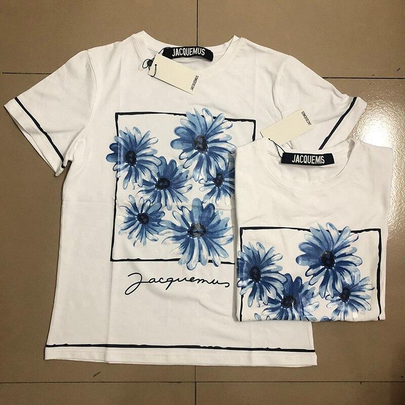 ¡Novedad! Camisetas de estilo veraniego para mujer de Jacquemus, Camiseta 100% de algodón de alta calidad, Top Tees de Jacquemus