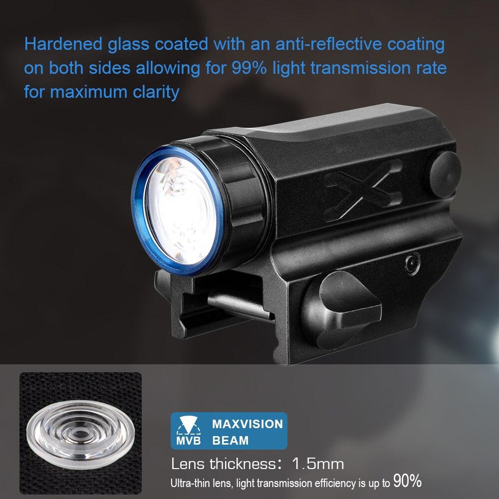 Trustfire G03S тактический пистолет вспышки светильник XPL-HI светодиодный оружие светильник охотничьего оружия светильник ручной пистолет фонарь ...