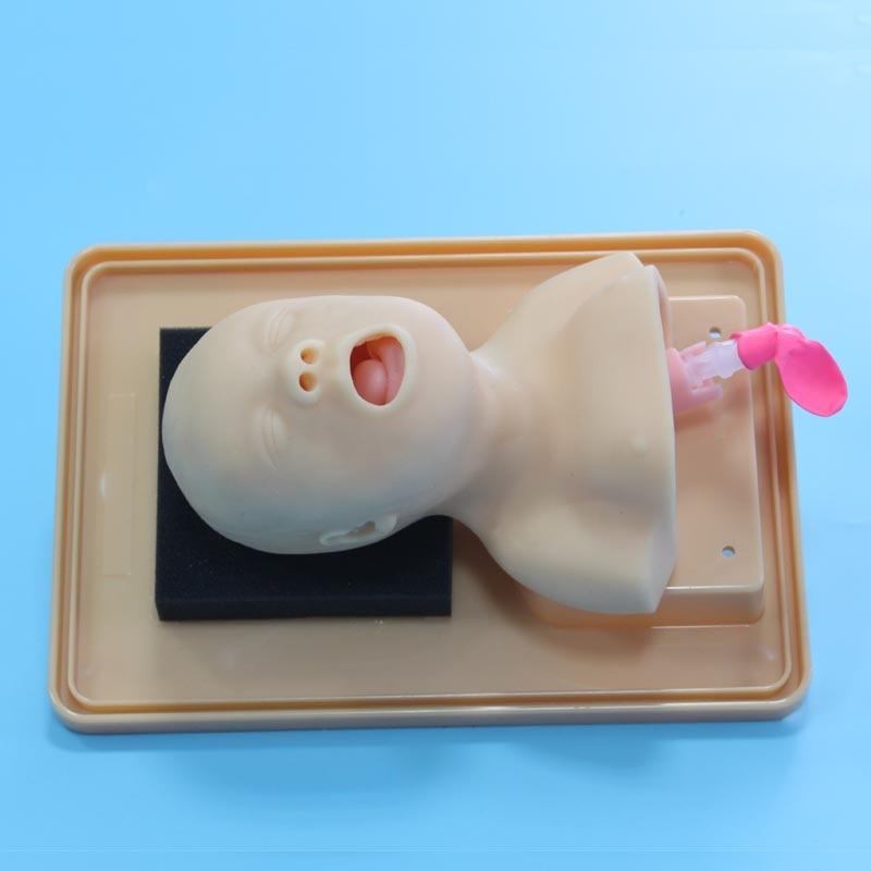 Manequim médico da intubação das vias aéreas da emergência do neonate BIX-J2A