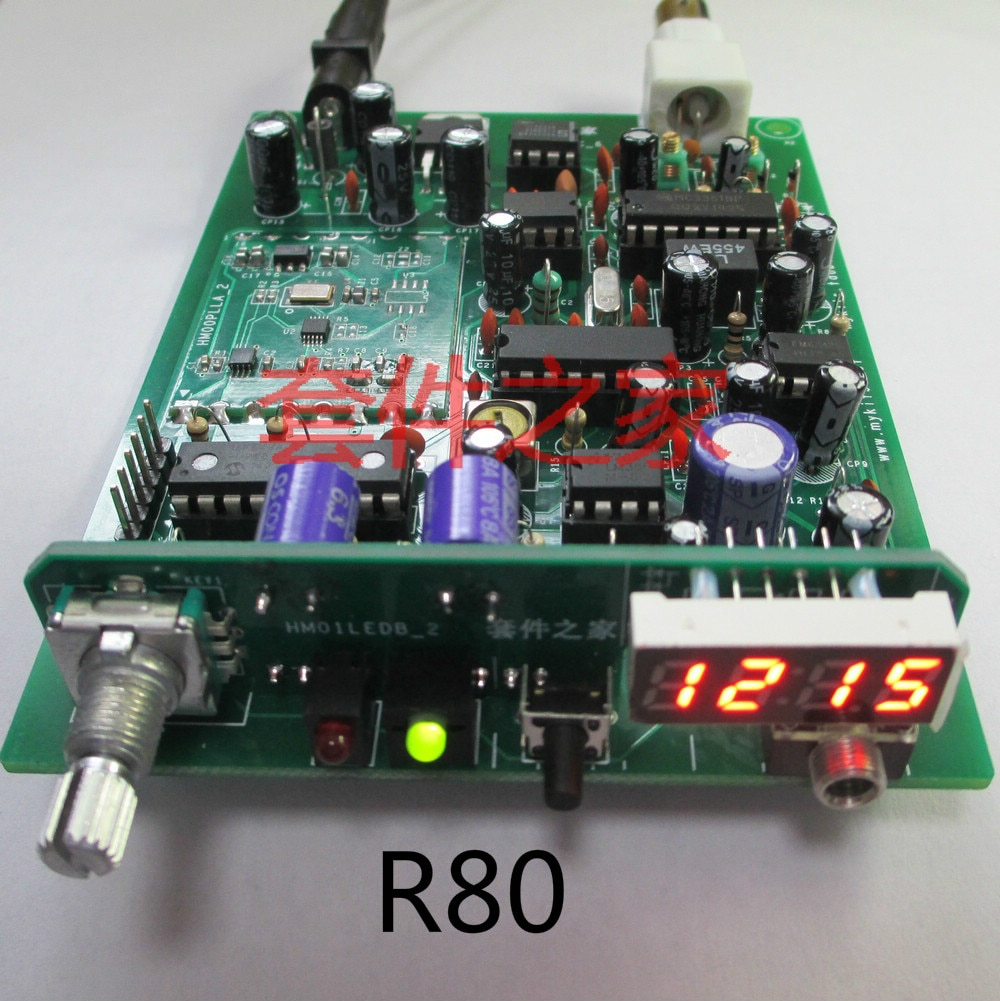 Receiver Kit R80 Aviation Band PLL Secondary Frequency Conversion Aviation Radio Aircraft Tower Call