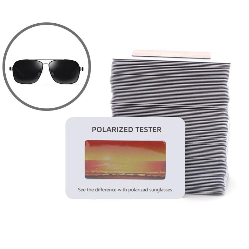 Sunglasses Polarised Test Card for Mens Ladies  Kids