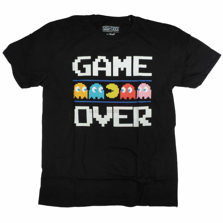 Pacman T-Shirt Juego 100% oficial de mujer T/clase camisa/Camiseta tipo mujeres de suave camiseta ser amable juego de Arcade de Namco