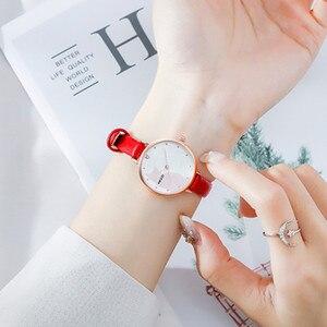 Women Watches Luxury Creative Quartz Wristwatch Women Simple Leather Wrist Watch Women Casual Elegant Ladies Watch Female Clock