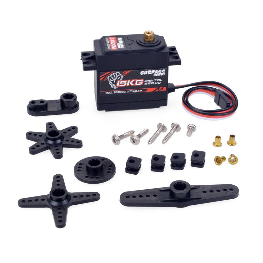 KK Waterproof Combo 4068 2050KV Brushless Motor w/120A Brushless ESC + S1500M 15KG Metal Servo for  for 1/8 RC Drift Racing Car enlarge