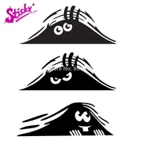funny dune sand monster peeping peering anime car sticker decal decor motorcycle off road laptop window wall trunk guitar vinyl