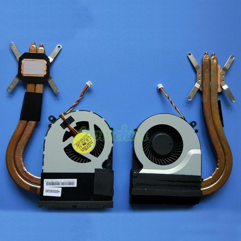 Новый Кулер для ноутбука Toshiba Satellite C850 C855 C875 C870 L850 система охлаждения радиатора Вентилятор DFS501105FR0T FBFT 14 мм 3pin
