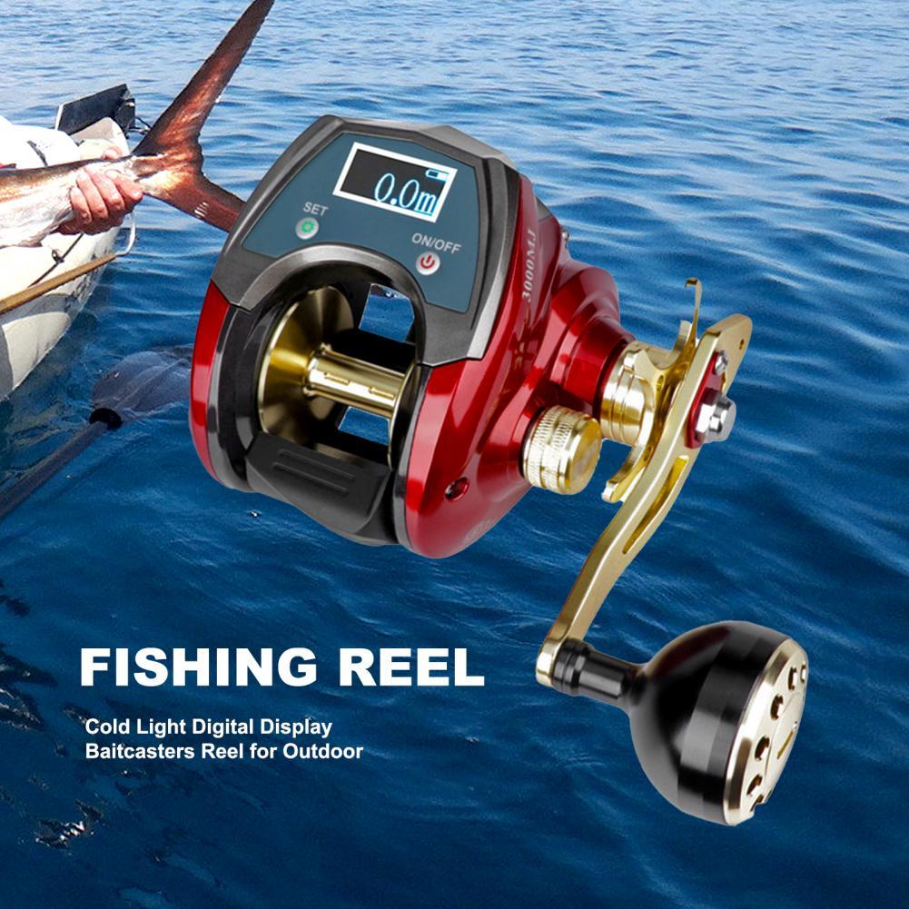 Anti-rust  Pragmatic Freshwater Fishing Baitcasting Reel Brass Baitcasting Reel 6+1BB Bearing   for Travel enlarge