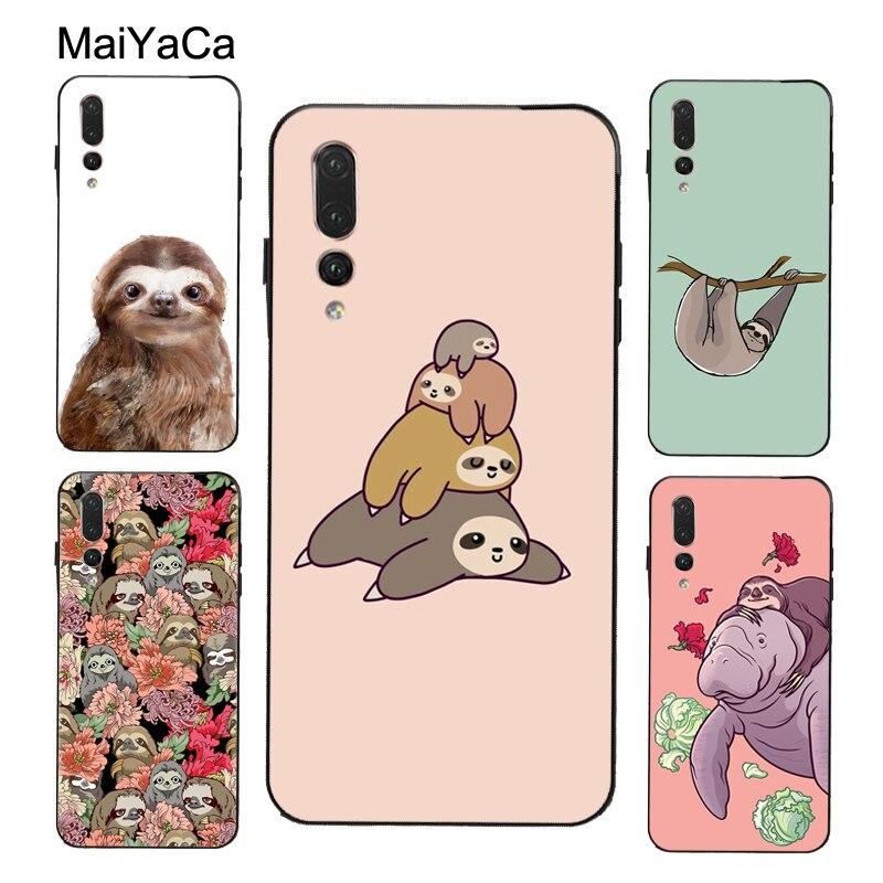 MaiYaCa Sloth Stapel Fall Für Huawei P40 P30 P10 P20 Lite Mate 10 20 30 Pro P Smart Z 2019