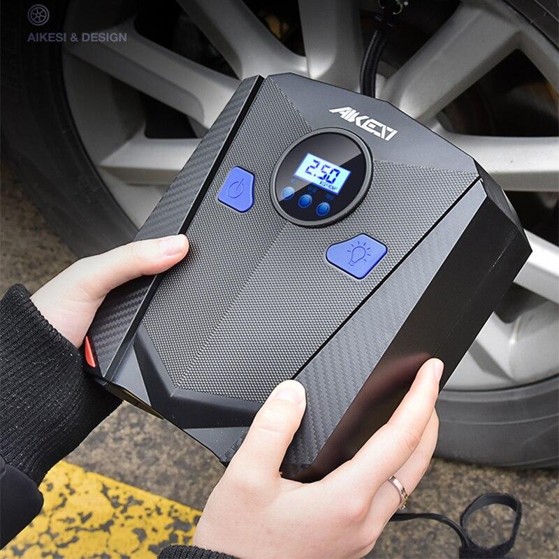 Inflador de neumáticos de coche bomba de aire Dc 12v compresor de Inflador de neumáticos para coche 150 Psi Mini infladores eléctricos portátiles luz Led Digital