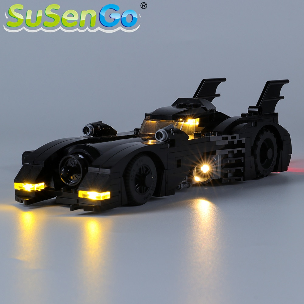 SuSenGo kit de luz LED para 1989 Batmobile Edición Limitada bloques de construcción juego de iluminación Compatible con 40433 (modelo no incluido)