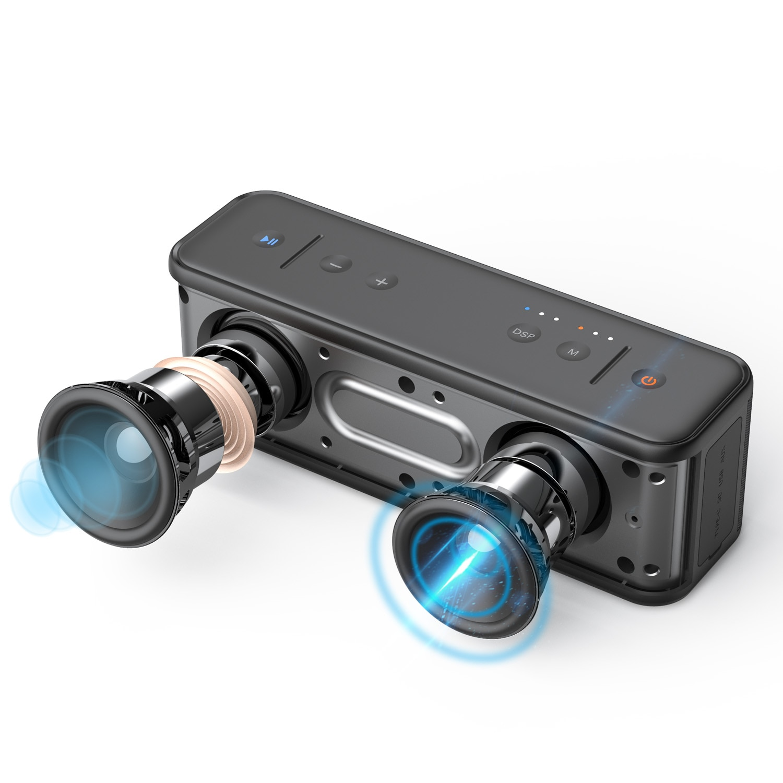 XDOBO Gentelman 1992 40W Portable Wireless Bluetooth Speaker TWS Stereo Boombox Support TF Card AUX USB Port Power Bank enlarge