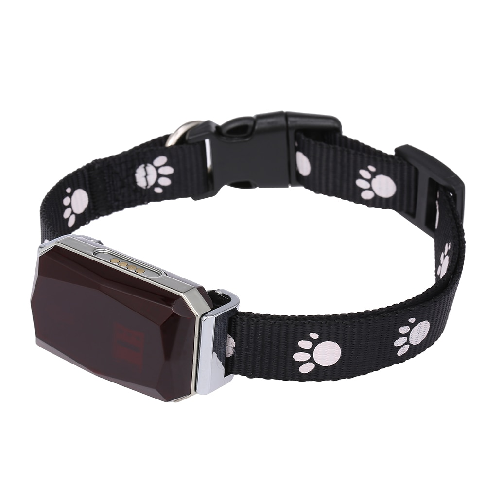 New Arrival IP67 Waterproof Pet Collar GSM AGPS Wifi LBS Mini Light GPS Tracker for Pets Dogs Cats Cattle Sheep Tracking Locator enlarge