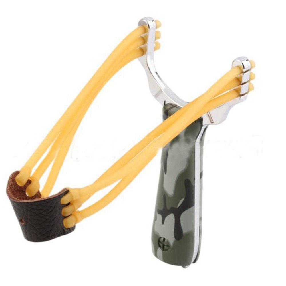 Уличная камуфляжная охотничья Рогатка, эластичная Рогатка, Резиновая лента для катапульты, охоты, кемпинга, повседневного использования, уличные инструменты