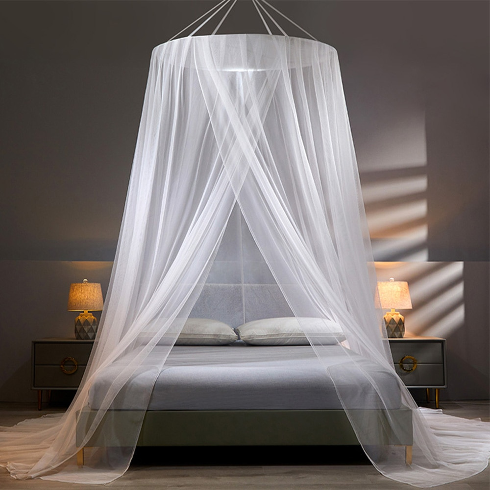 YanYangTian Bed Canopy on the Bed Mosquito Net Baldachin Camping Tent Repellent Tent Insect Curtain Bed Net