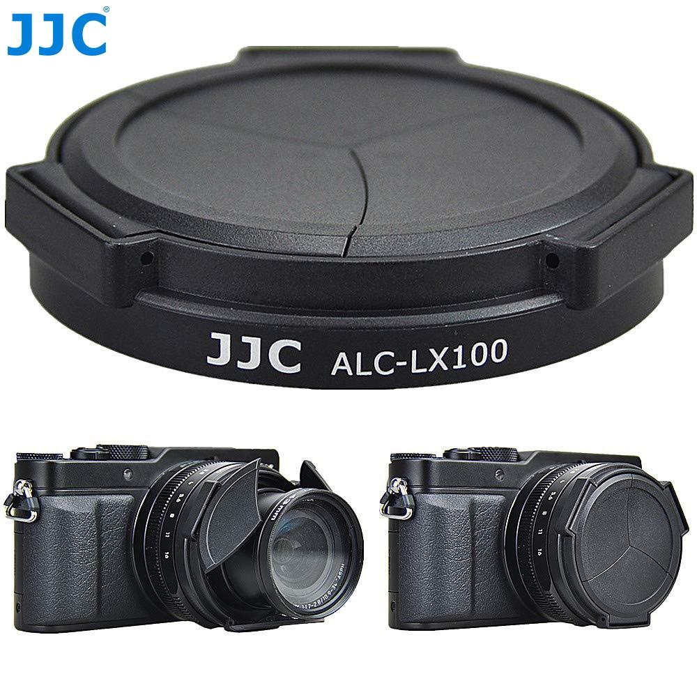 JJC Protector de cámara tapa de lente automática para Panasonic LUMIX DMC-LX100 DMC-LX100II LEICA D-LUX (Typ 109) D-LUX7 sustituye a DMW-LFAC1