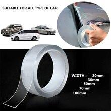 10ft 3M Transparent Car Stickers Cars Sill Edge Paint Protection Strip Nano Tape Improvement Anti Scratch Car Stickers