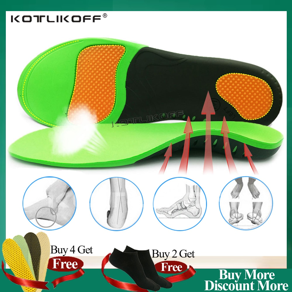 Best Orthopedic Shoes Sole Insoles For Shoes Arch Foot Pad X/O Type Leg Correction Flat Foot Arch Su