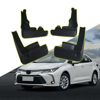 4Pcs/Set Car Mud Flaps Front Rear Mudguards for Toyota Corolla E210 4Dr Saloon Sedan 2019 Splash Guards Fender Mudflaps