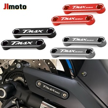 Аксессуары для мотоциклов Yamaha TMAX530 TMAX560 TMAX 530 560 CNC, передняя ось, пластина коптера, декоративная крышка, Бесплатная быстрая доставка