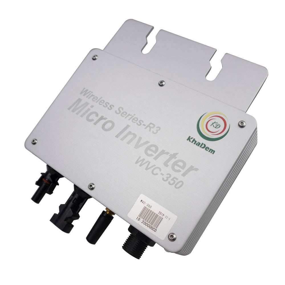 WVC350 Micro Inversor MPPT energía Solar Inversor de conexión Ip65 entrada del regulador 22-50V salida 110V 220V con onda sinusoidal pura