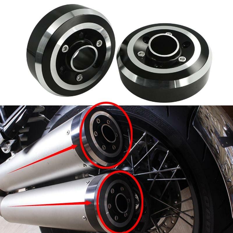 غطاء نهاية كاتم صوت عادم الدراجة النارية ، لسيارات BMW R NineT Nine T R9T Racer ، Urban Pure 2014-2019 R1200R