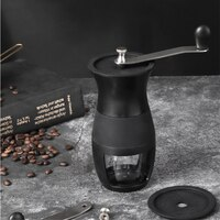 Портативная ручная кофемолка, мини ручная кофемолка ручной работы, мельница для зерен кофе, кухонный инструмент, домашняя кофемолка