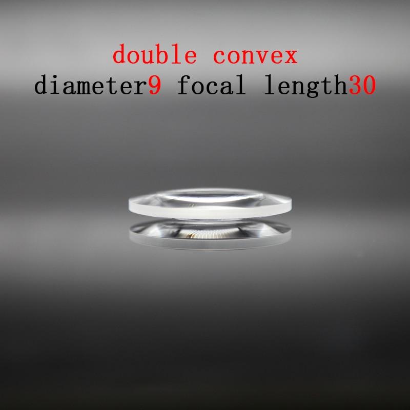 1pc 80mm optical glass focal length 330mm fgmc doublet optics double convex lens for diy astronomic telescope objective lens Diameter 9mm Focal Length 30mm Optical Double Convex Lens Factory Custom Optical Glass Prism and Lens