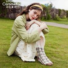 Caramella Socks for Women Ins Trendy Spring and Autumn Cute Fruit Japanese Long Tube Korean Internet