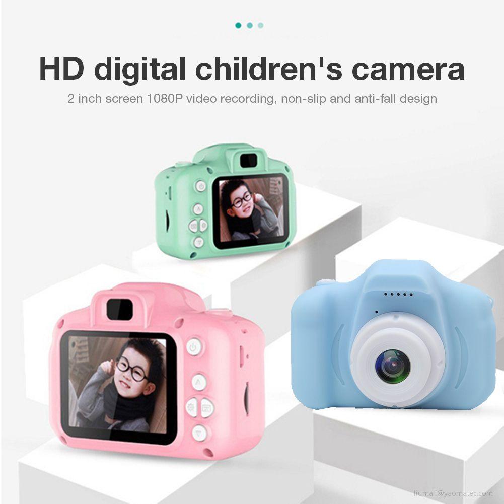 Mini cámara de juguete educativa para niños, cámara Digital de regalo para...