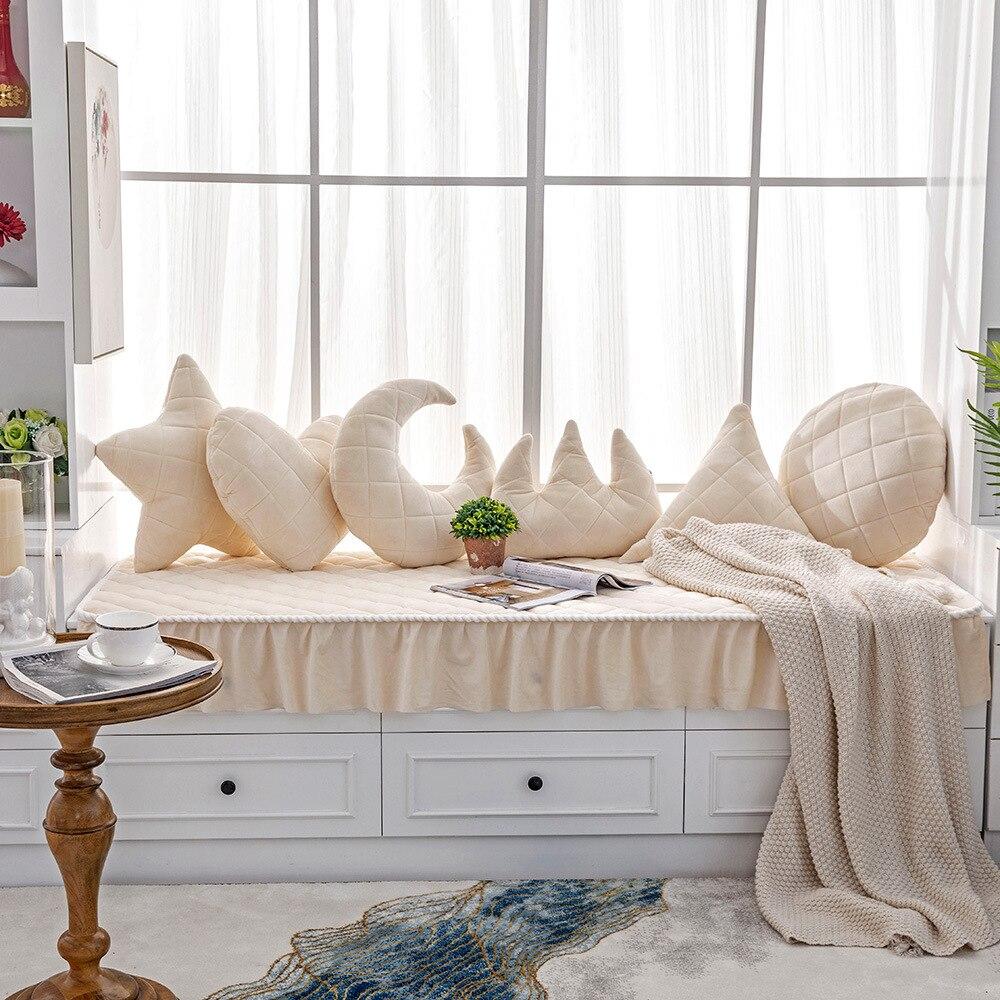 Sofá Universal cobertor para muebles con elegante falda sillón para salón sofá de muebles protectores de Almofada