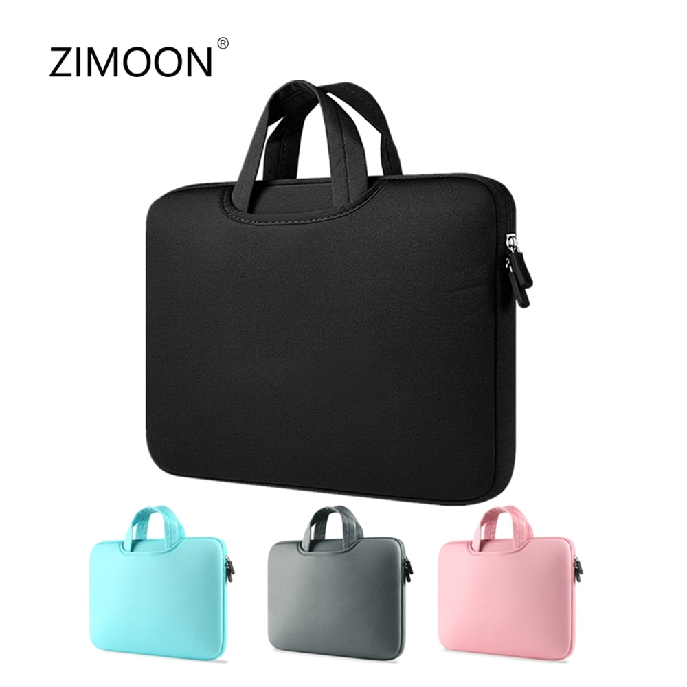 Colorful Zipper Laptop Sleeve Bag Macbook Air Pro Case Cover 11/13/14/15 inch Notebook Bag Computer