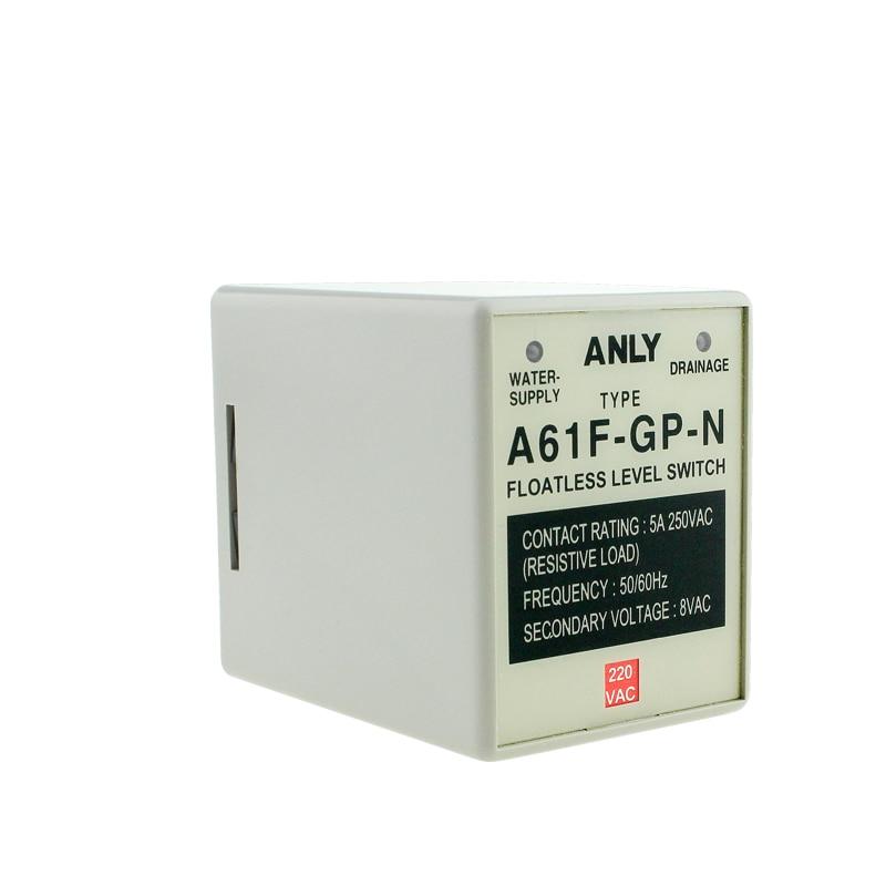 Original auténtico ANLY Anliang A61F-GP-N controlador de nivel de líquido interruptor de...