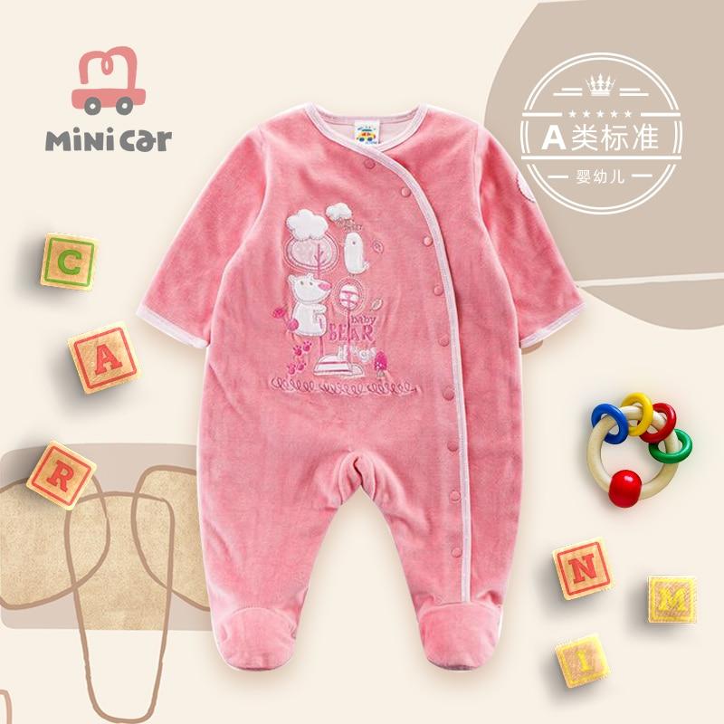 Детское боди, Детская осенняя теплая одежда, новый стиль детской уличной одежды