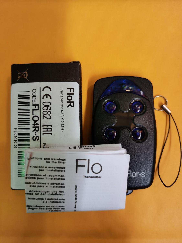 Flor-s совместимый гараж/ворота дистанционного FLO1-RS FLO2-RS FLO4-RS flo2r-s прокатки код 433,92 МГц
