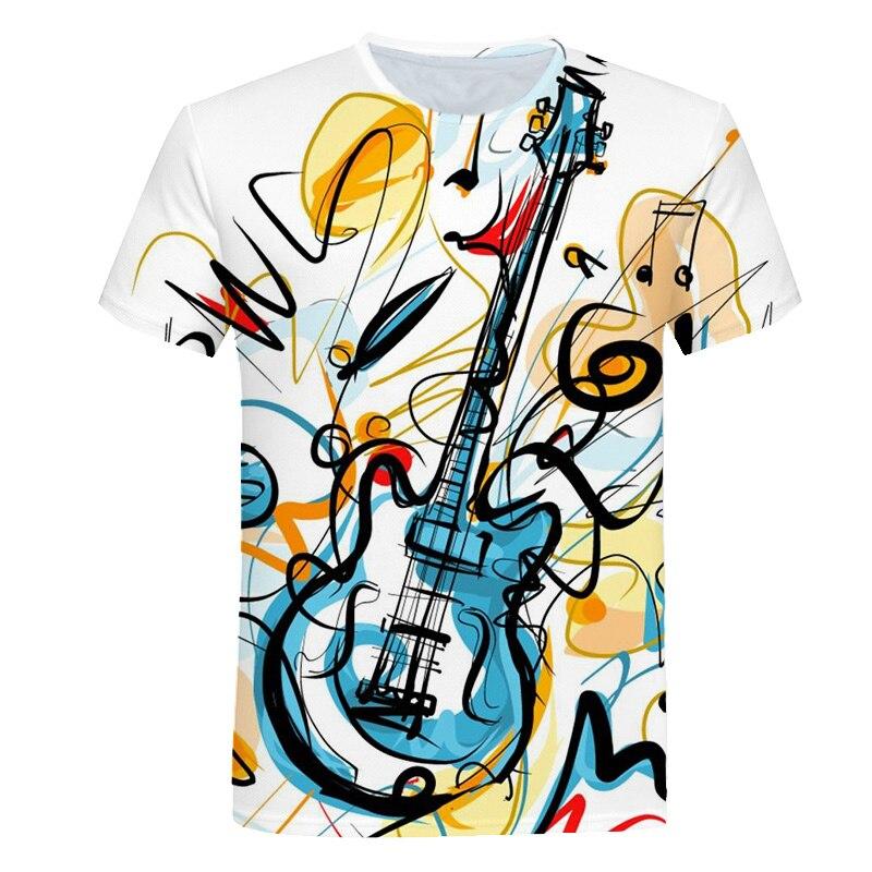 Новинка 2019 года; детская футболка с короткими рукавами с объемным цифровым принтом Повседневная Свободная футболка с круглым вырезом для мальчиков и девочек